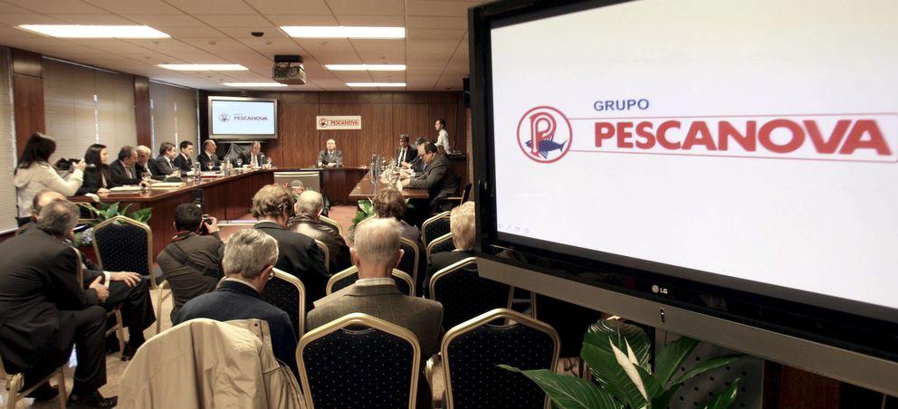 Vista general de una junta general de accionistas del grupo de empresas Pescanova. (EFE)