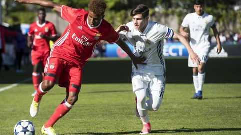 El Madrid de Guti patina ante el Benfica en las semifinales de la Youth League