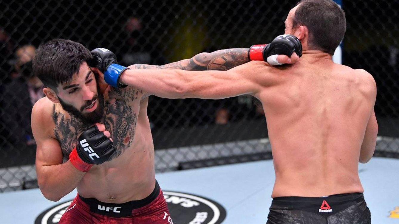 UFC Las Vegas 16: el KO del español Ilia Topuria elogiado por el presidente de la UFC