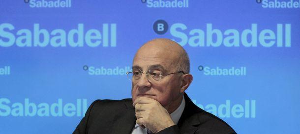 Foto: Josep Oliu, presidente de Banco Sabadell (Efe)