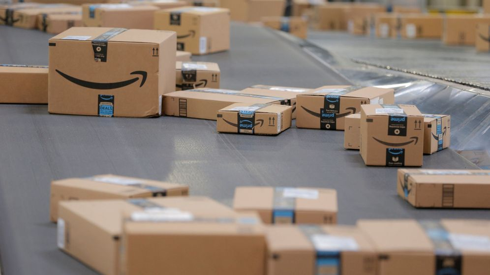 Foto: Paquetes de Amazon | Reuters