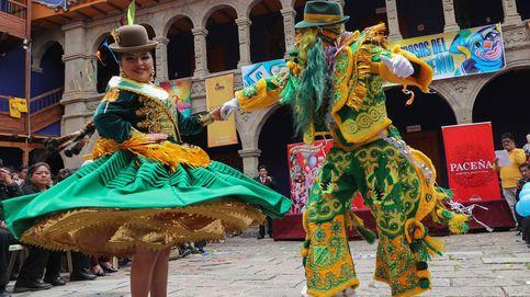 Carnaval también en Bolivia