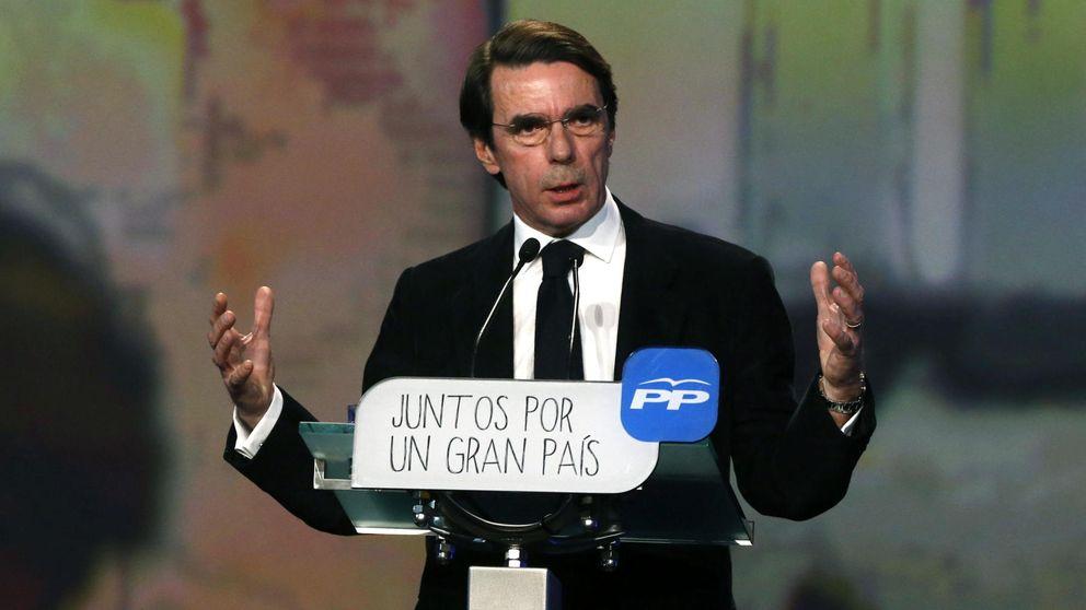 Aznar ficha a medio Ibex, Zedillo, Vargas Llosa y al 'caído' Monzón