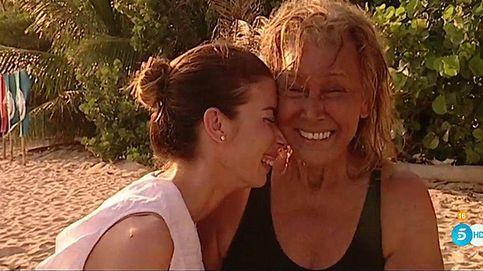 Las lágrimas de Mila al reencontrarse con su hija Alba en 'Supervivientes'