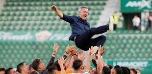 Post de El Elche vive otro sueño con la permanencia: Huesca y Valladolid, a segunda división