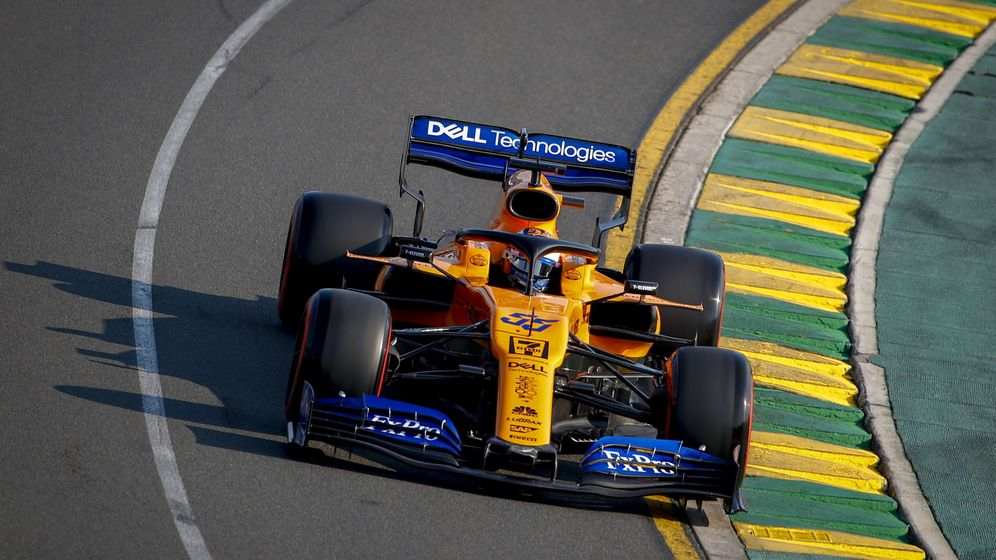 Foto: Carlos Sainz no tuvo suerte en el momento crítico de la Q1. (EFE)