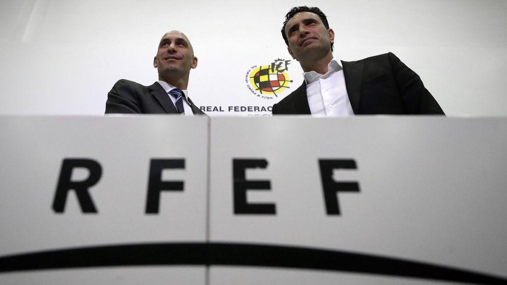 Foto: Rueda de prensa de Molino, nuevo director deportivo de la RFEF | Foto: EFE