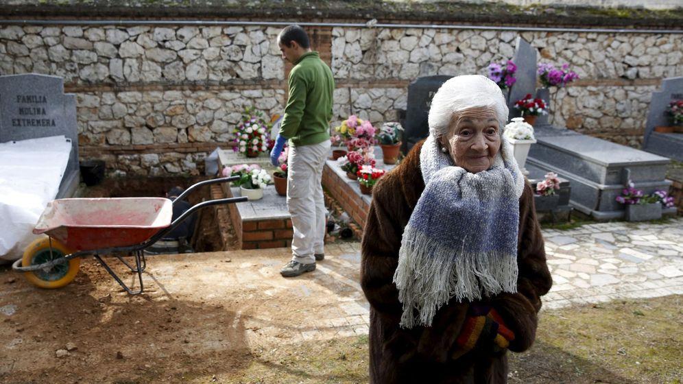 Foto: Ascension Mendieta, hija de Timoteo Mendieta (Reuters)