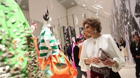 Nuria Roca le copia el look 'low cost' a Naty Abascal