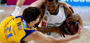 Post de El Madrid empata la final ACB y Randolph se hunde en la rotación de Laso