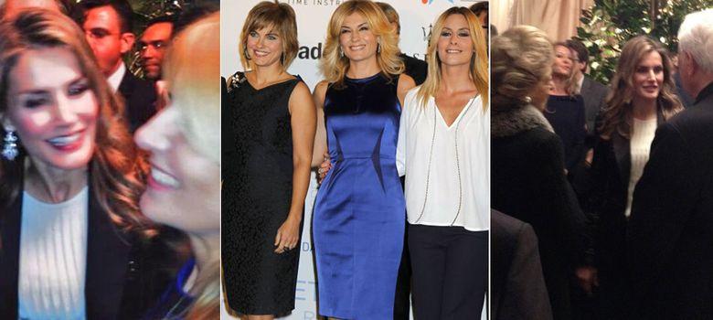 Foto: Letizia, Sandra Golper, Lourdes Maldonado, Ainhoa Arbizu y Pitita Ridruejo