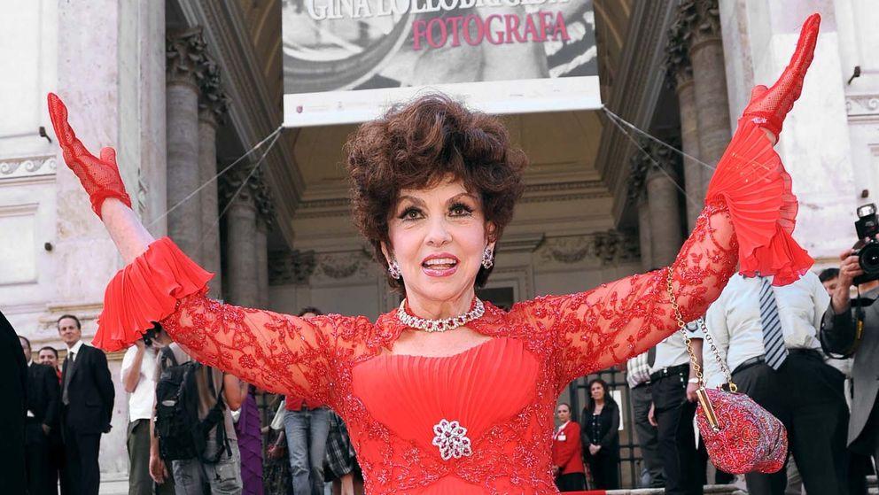 Foto: La actriz Gina Lollobrigida