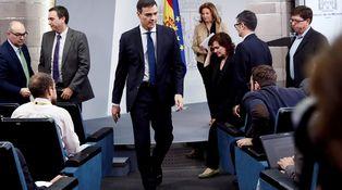 ¿Cataluña? A Sánchez no le van a dar ni agua
