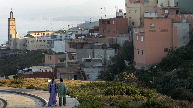 Imagen de archivo tomada en el barrio del Príncipe, en Ceuta (Reuters)