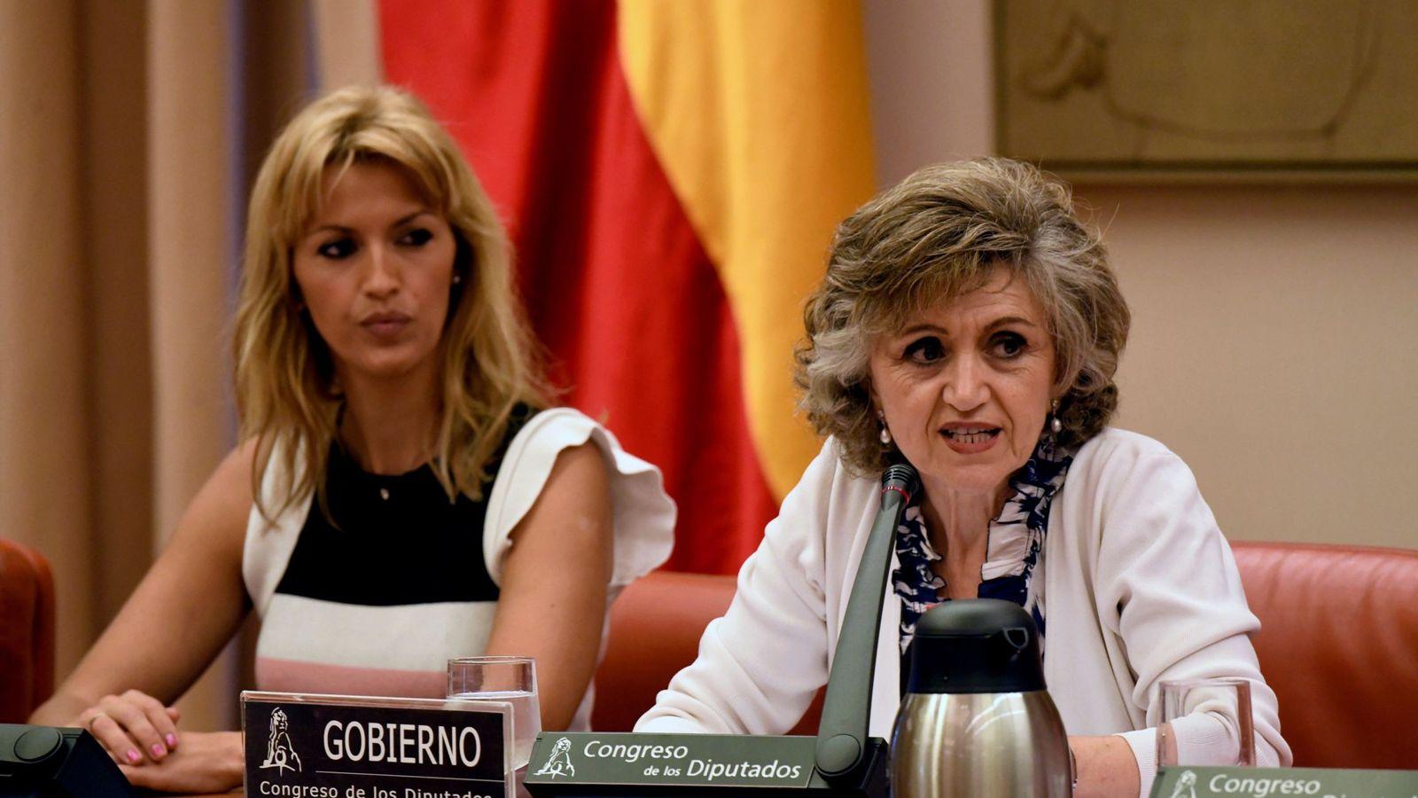Foto: La ministra de Sanidad, Consumo y Bienestar Social en funciones, María Luisa Carcedo. (EFE)