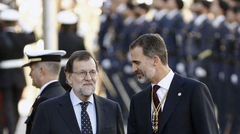 El Rey y Rajoy se reúnen en Marivent en la recta final del órdago independentista