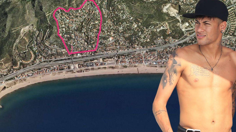 Neymar abandona Castelldefels: así es la lujosa urbanización blaugrana