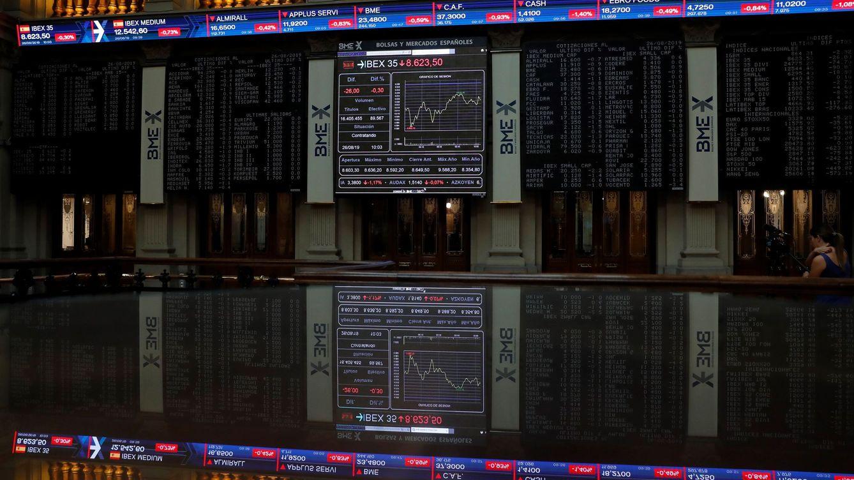 El Ibex reconquista los 9.000 apoyado en la banca y una posible tregua comercial