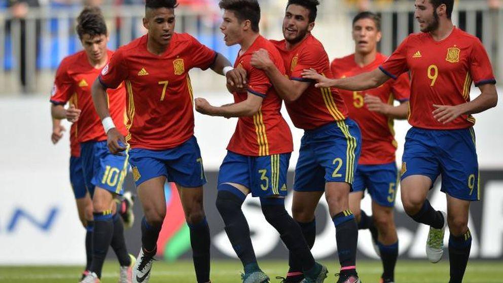 España remonta a Alemania y disputará la final del Europeo Sub 17 ante Portugal
