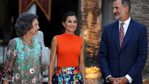 Álbum: los gestos de la nueva concordia de la familia real en el Palacio de la Almudaina