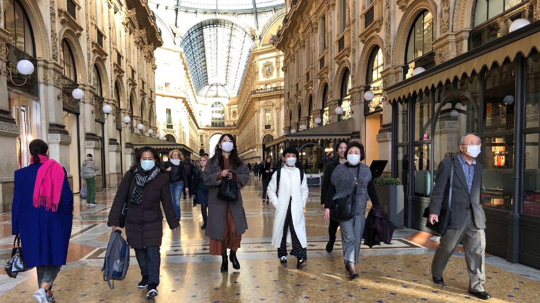 Galleria Vittorio Emanuele en Milán, hoy. (Reuters)