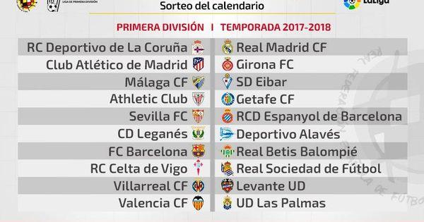 Calendario Del Barcelona.Sorteo El Real Madrid Barcelona Se Juega El 20 De Diciembre Y El De