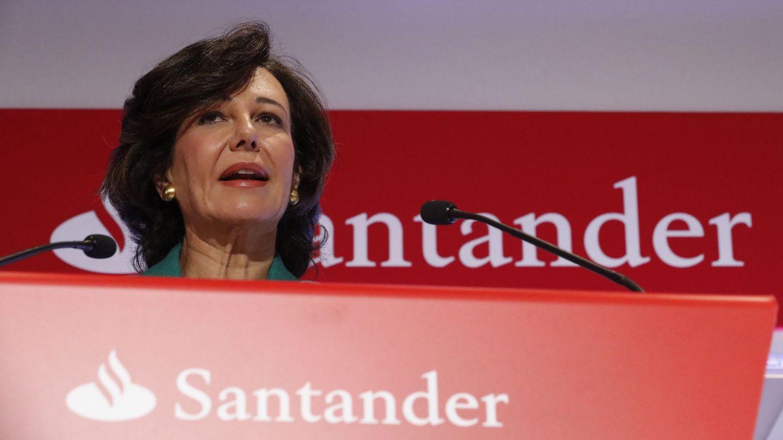 La presidenta del Santander, Ana Botín. (EFE)