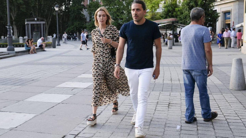 Marta Ortega y Carlos Torretta juntos y con looks coordinados. (Getty)