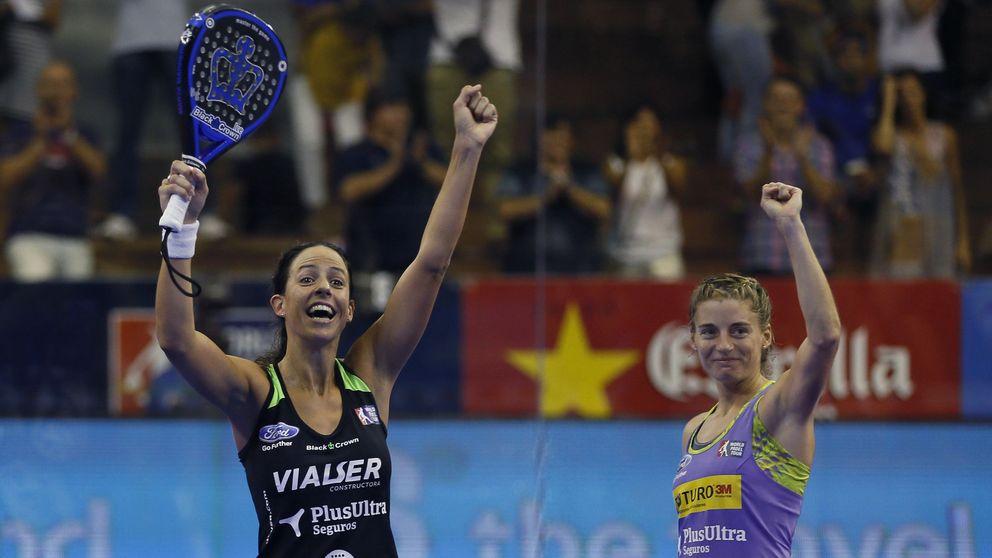 Salazar y Marrero se convierten en las nuevas número uno del pádel femenino