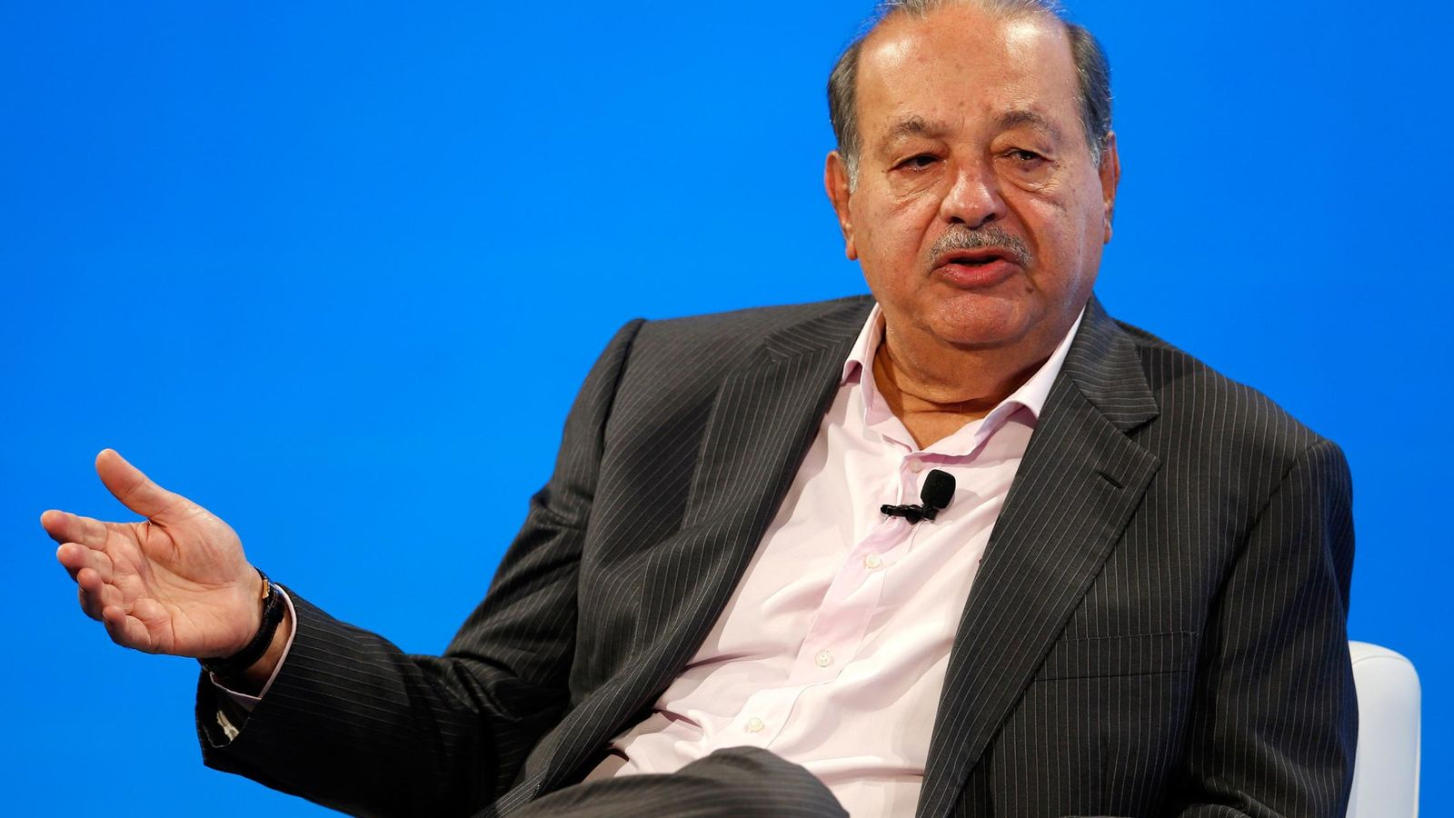 Foto: El empresario Carlos Slim (Reuters)