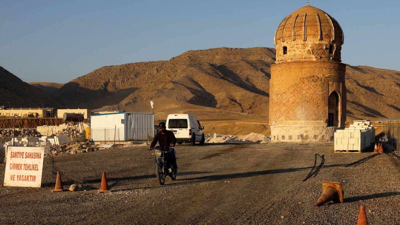 Foto: La tumba de Zeynel Bey, de 550 años de antigüedad