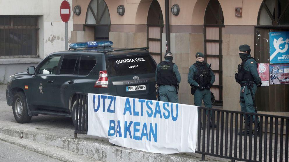 Ocho meses de prisión para el hombre que agredió a un guardia civil en Alsasua