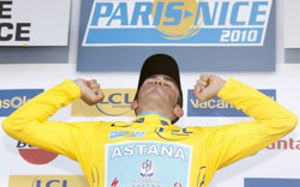 Contador se hace con la París-Niza