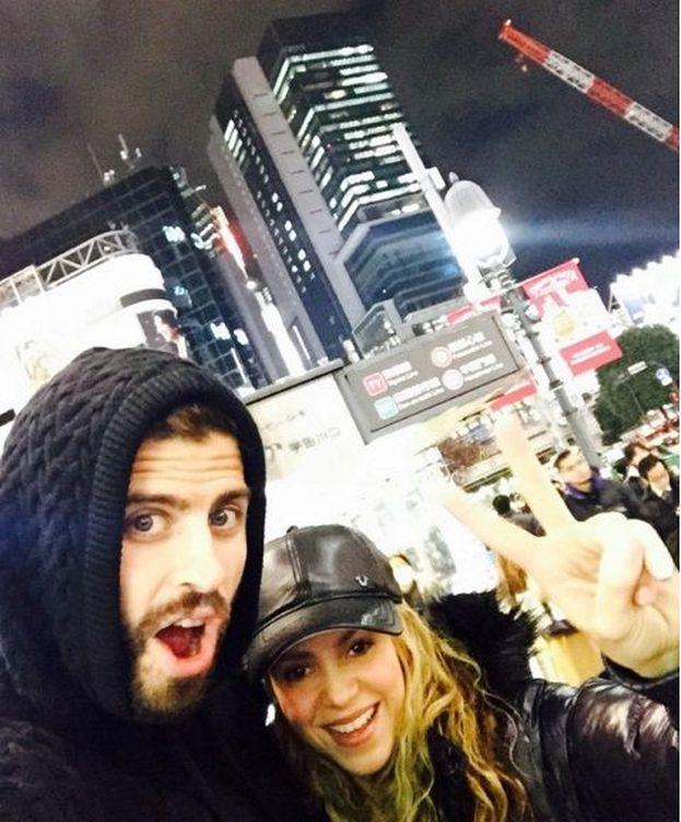 Foto: Gerard Piqué y Shakira (Instagram)
