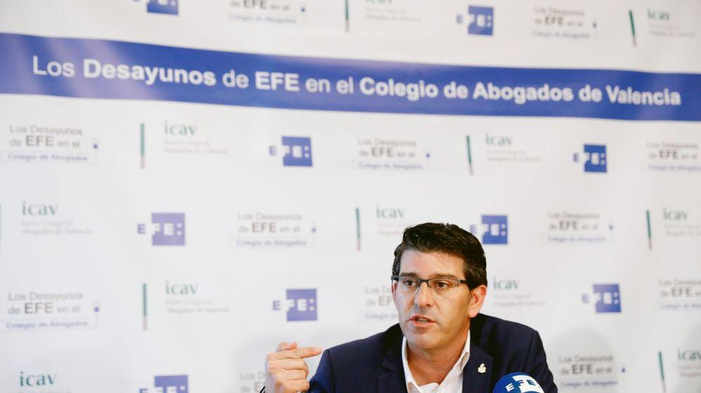 Foto: El presidente de la Diputación de Valencia, Jorge Rodríguez. (EFE)