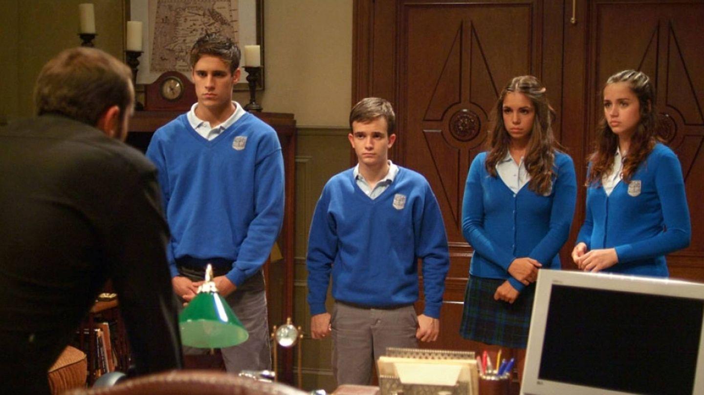 Imagen de la serie 'El internado'. (Atresmedia)