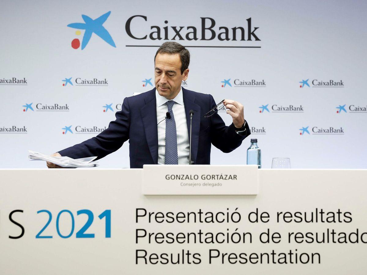Foto: Gonzalo Gortázar, consejero delegado de CaixaBank. (EFE)