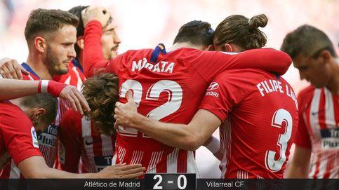 Álvaro Morata se va adaptando a la filosofía del Atlético y ya marca goles (legales)