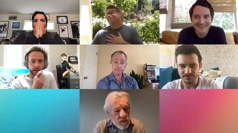 El elenco de 'El Señor de los Anillos' se vuelve a reunir
