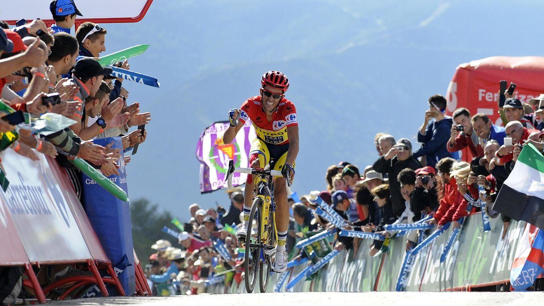 Foto: Alberto Contador en la última Vuelta a España (AP).