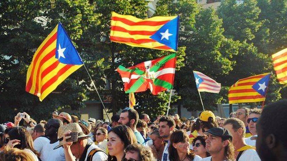 El desafío soberanista catalán incrementa el rechazo a la independencia en el País Vasco