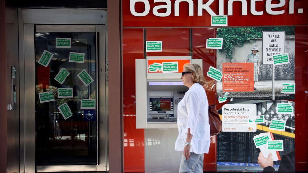 Foto: Oficina de Bankinter (Reuters)