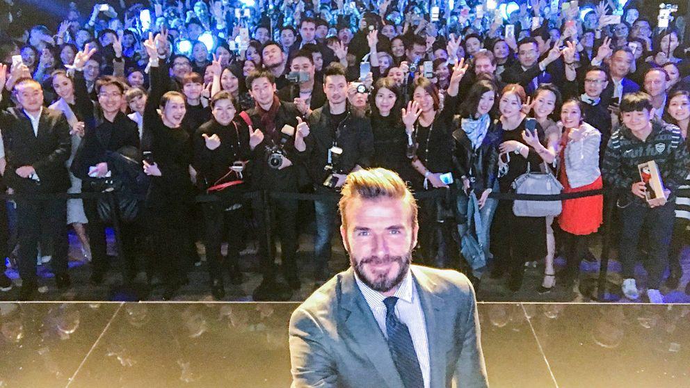 David Beckham y Biotherm Homme