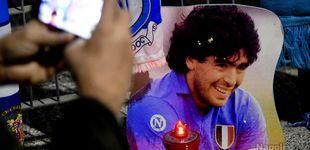 Post de El Nápoles pondrá el nombre de Maradona a su estadio, el San Paolo