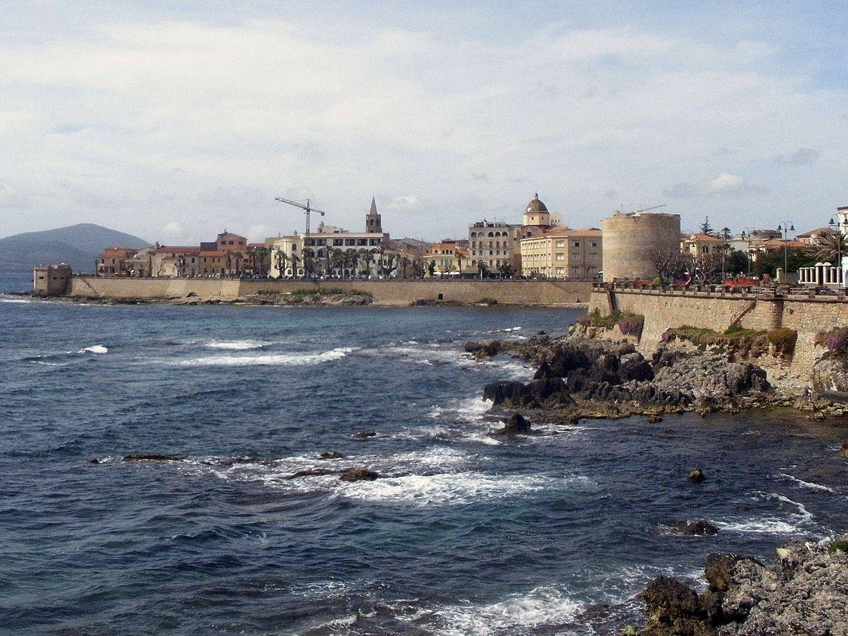 Foto: Alguer, en la isla de Cerdeña, Italia. (EFE)