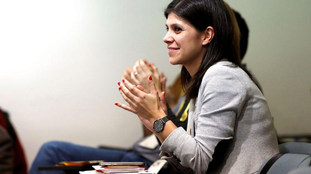 Foto: La portavoz de Esquerra Republicana de Catalunya (ERC), Marta Vilalta. (EFE)