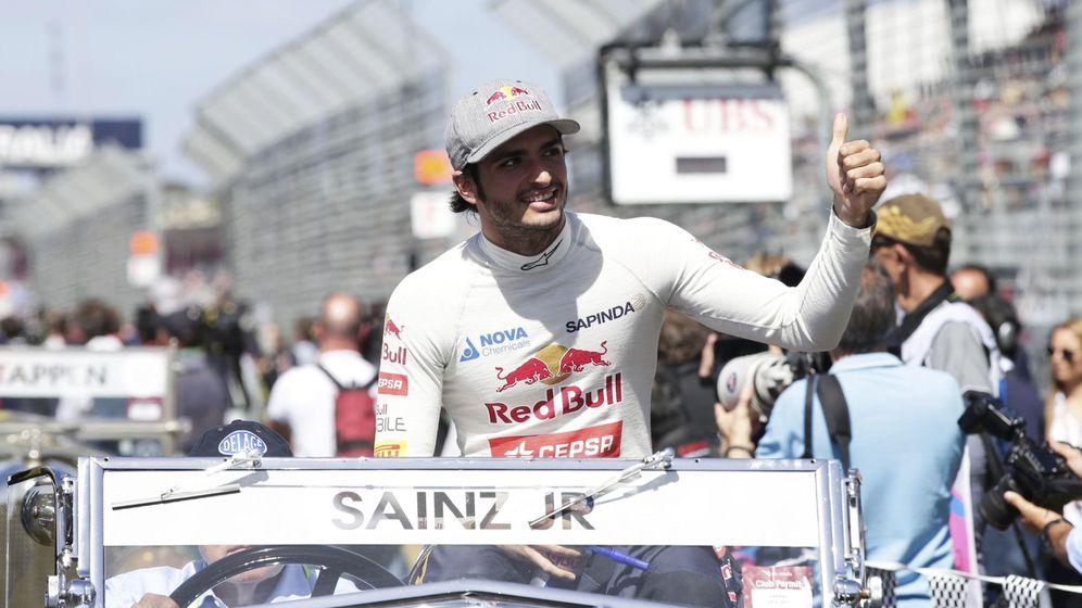 Foto: El español Carlos Sainz ha sido noveno en su primera carrera en la Fórmula 1 (Reuters)