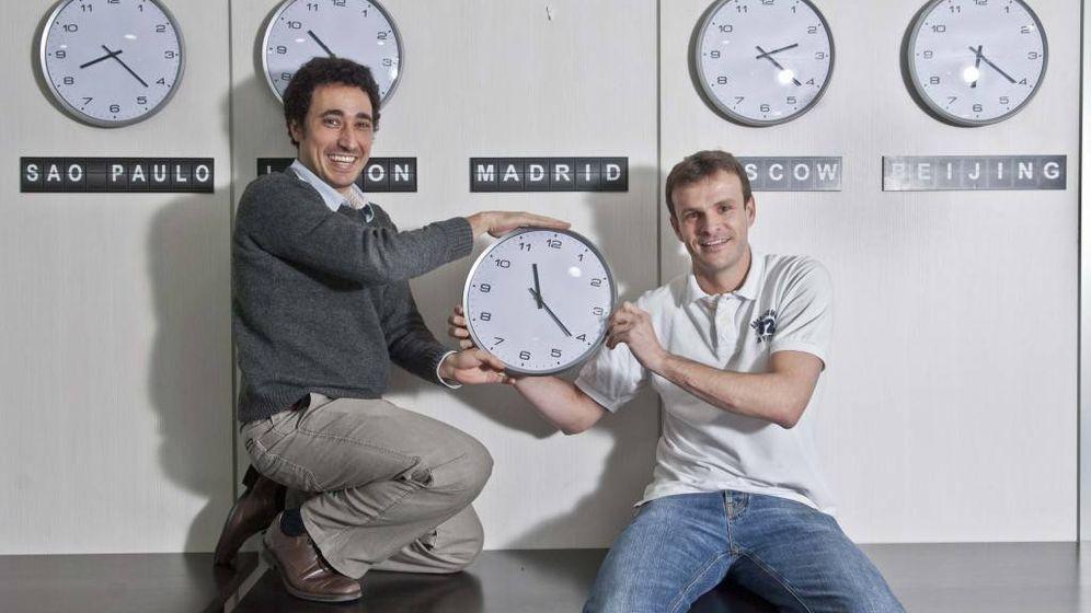 Foto: Ander Michelena y Jon Uriarte, fundadores de Ticketbis