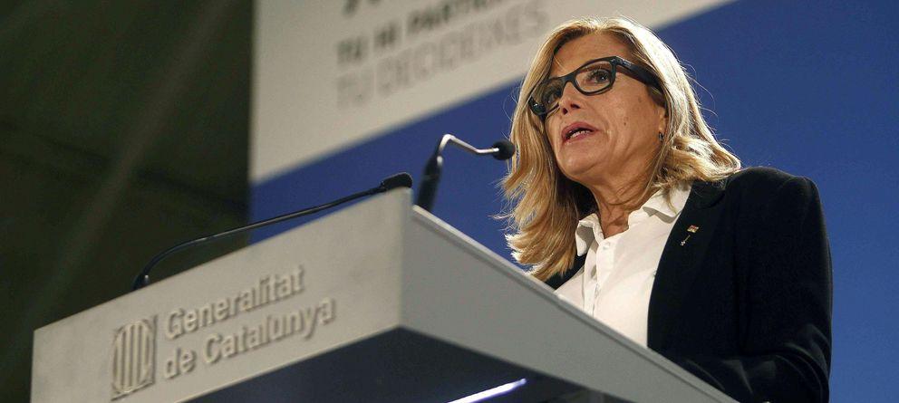 Foto: La vicepresidenta de la Generalitat, Joana Ortega (EFE)