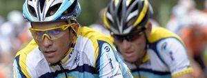 Contador deja claro a Armstrong quién es el jefe